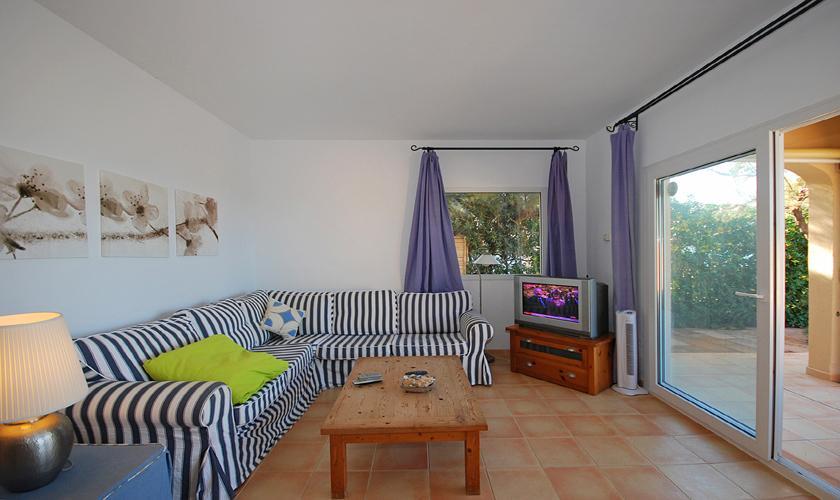 Wohnraum Ferienhaus Mallorca PM 440