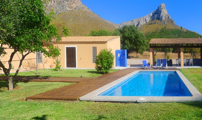 Pool und Ferienhaus Mallorca Nordküste PM 442