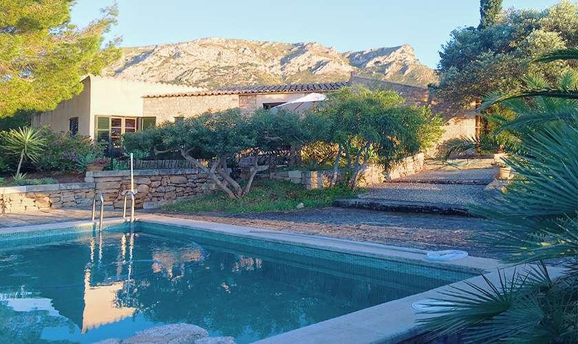 Blick auf das  Ferienhaus Mallorca 4 Personen PM 444