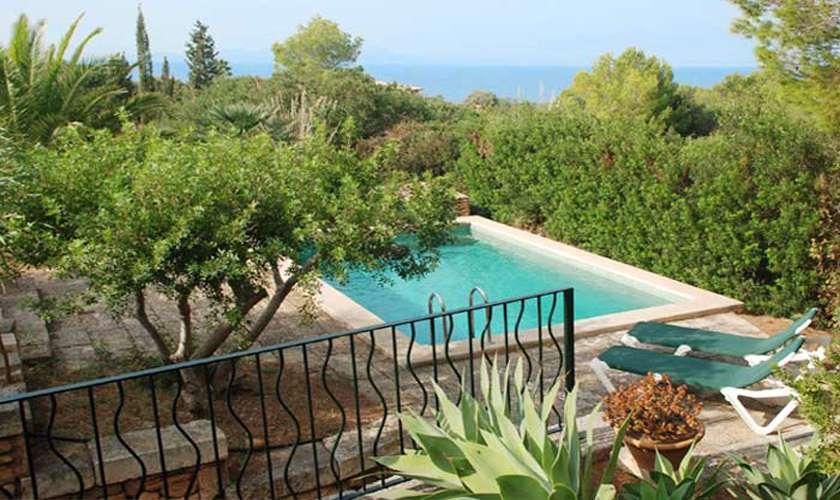Poolblick Ferienhaus Mallorca 4 Personen PM 444