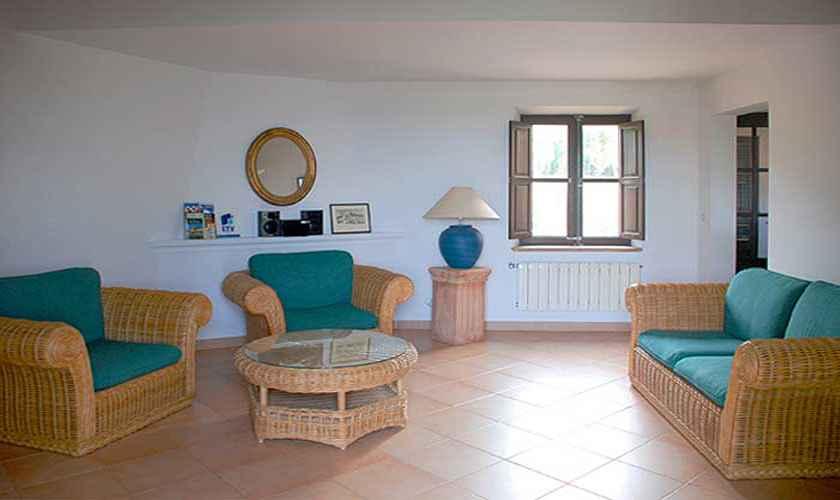 Wohnraum Ferienhaus Mallorca 4 Personen PM 444