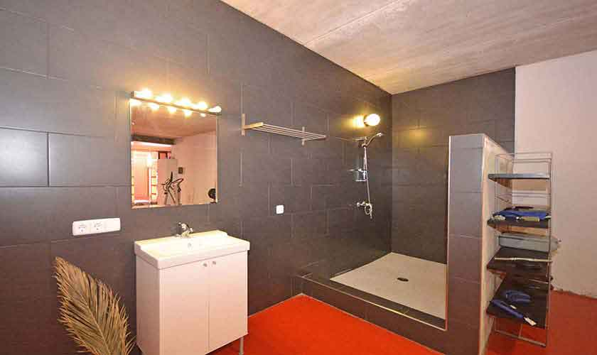 Badezimmer Ferienhaus Mallorca Nordküste PM 450