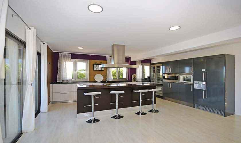 Küche Ferienhaus Mallorca Nordküste PM 450