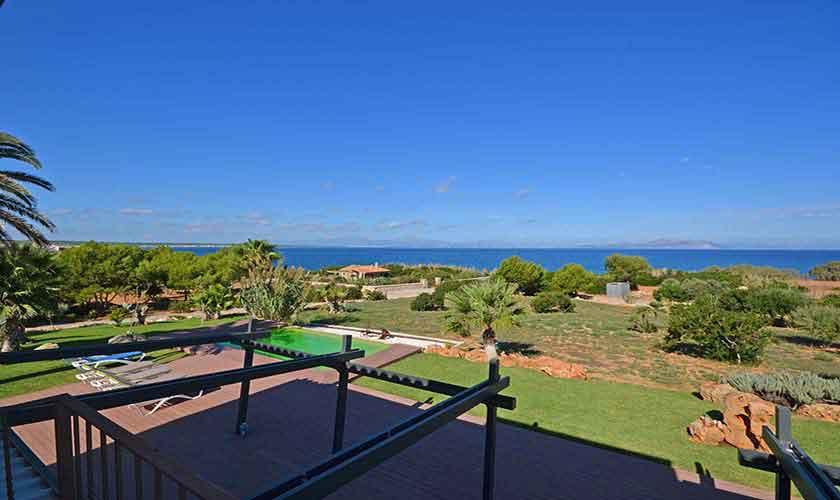 Meerblick Ferienhaus Mallorca Nordküste PM 450