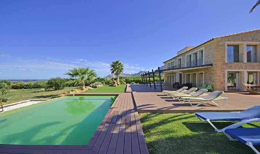 Pool und Ferienvilla Mallorca Nordküste PM 450