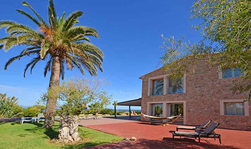 Terrasse und Ferienvilla Mallorca Nordküste PM 450