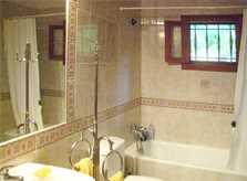 Badezimmer Ferienhaus Mallorca Nordküste PM 460