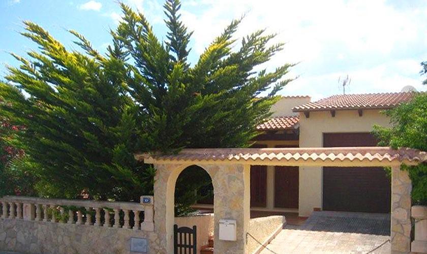 Eingang Ferienhaus Mallorca Nordküste PM 460