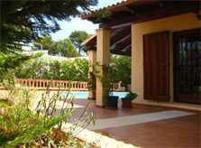Terrasse Ferienhaus Mallorca Nordküste PM 460