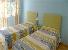 Schlafzimmer Ferienhaus Mallorca Nordküste PM 466