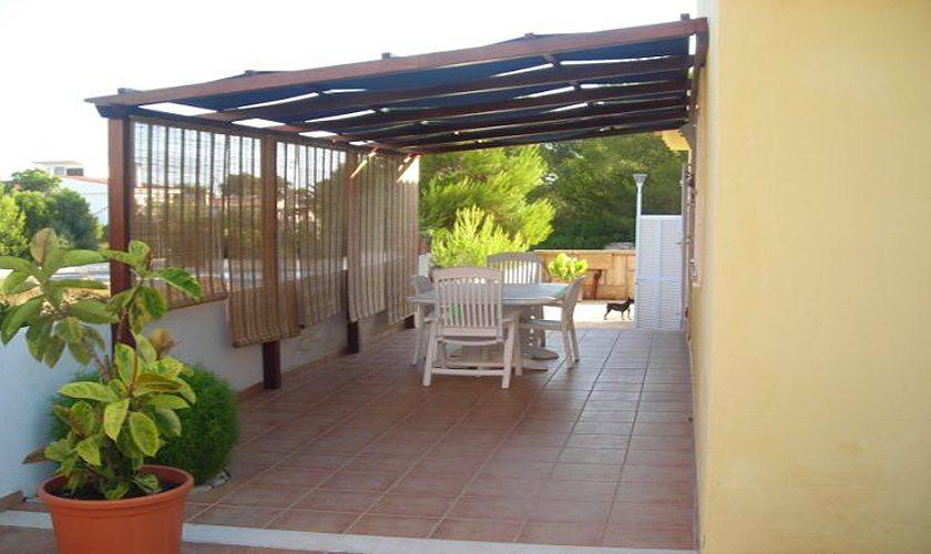Terrasse Ferienhaus Mallorca Nordküste PM 466