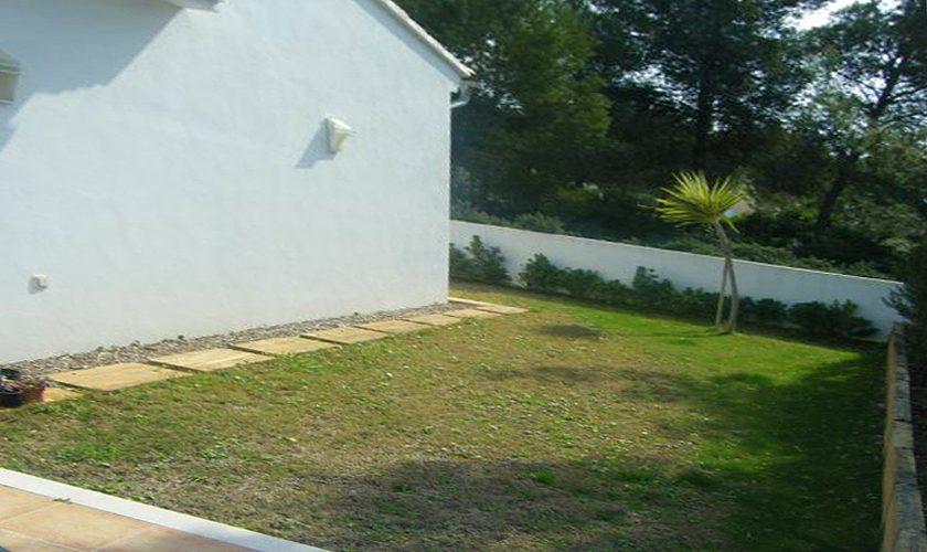 Wiese Ferienhaus Mallorca Nordküste PM 466