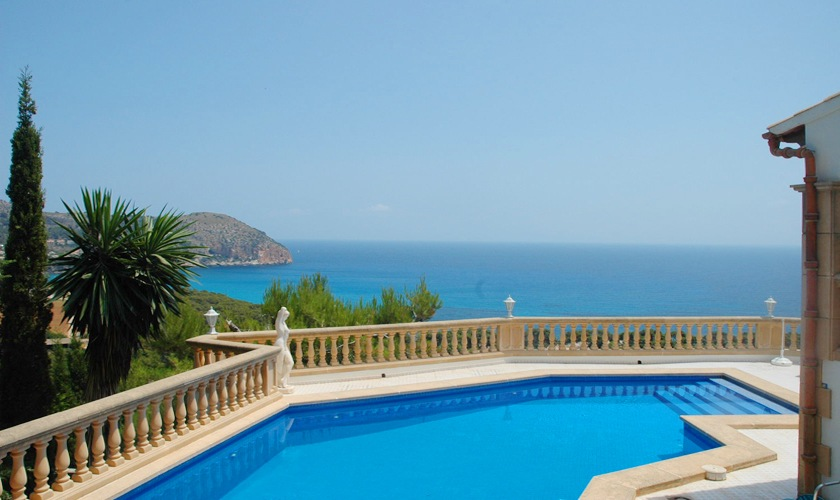 Pool und Meerblick Villa Mallorca PM 501