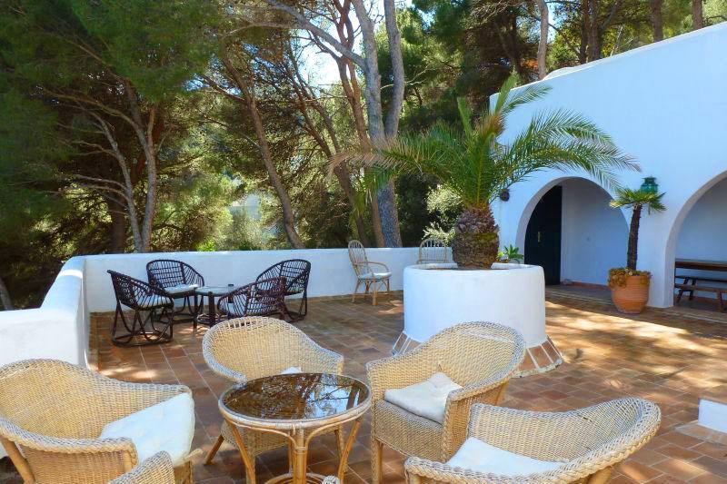 Terrasse Ferienhaus Mallorca Ostküste PM 503