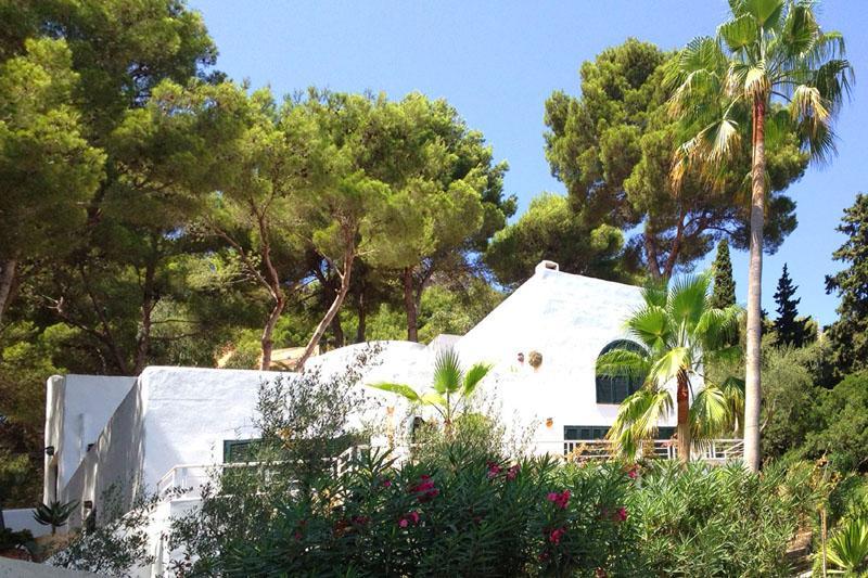 Blick auf die Ferienvilla Mallorca PM 503
