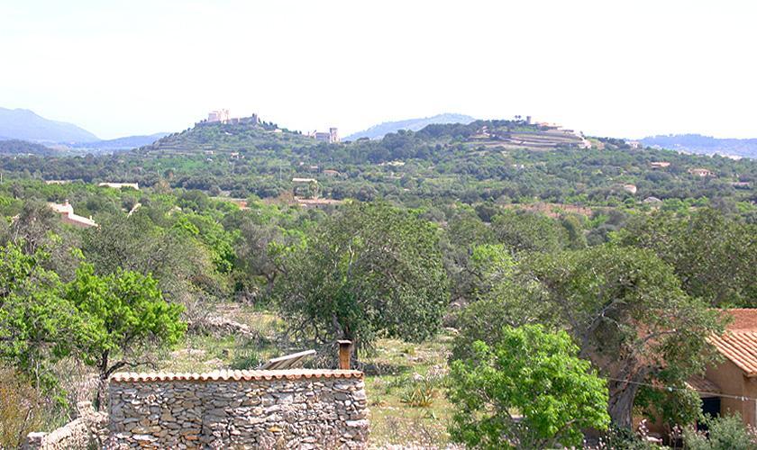 Blick in die Landschaft Finca Mallorca bei Arta PM 505