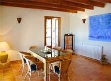 Moderner Wohnraum Finca Mallorca bei Arta PM 505