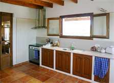 Küche Finca Mallorca bei Arta PM 505