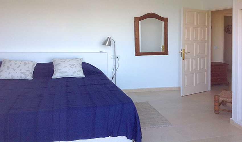 Schlafzimmer Ferienhaus Mallorca Ostküste PM 506