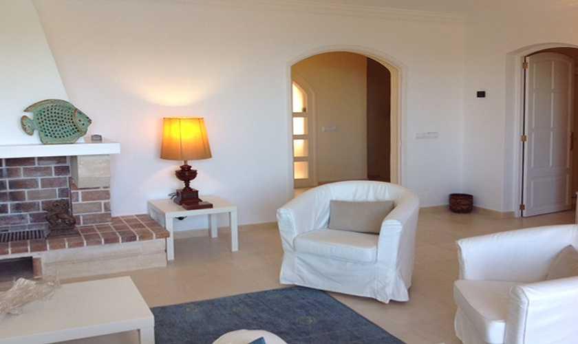 Wohnraum Ferienhaus Mallorca Ostküste PM 506