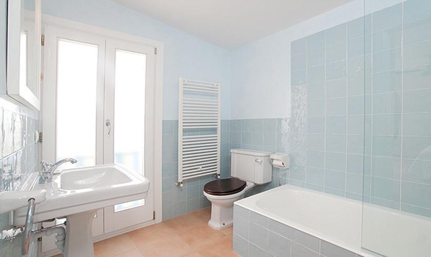 Badezimmer Villa Mallorca Costa de Canyamel PM 507