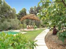 Pool und Garten Villa Mallorca Costa de Canyamel PM 507
