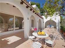 Terrasse Villa Mallorca mit Pool PM 507