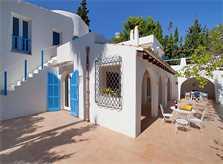 Blick auf die Villa Mallorca mit Pool PM 507