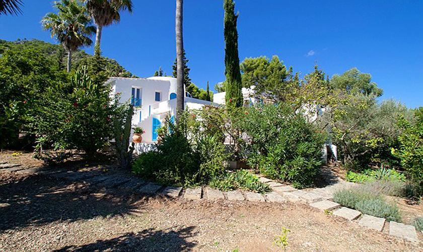 Blick auf die Villa Mallorca Costa de Canyamel PM 507