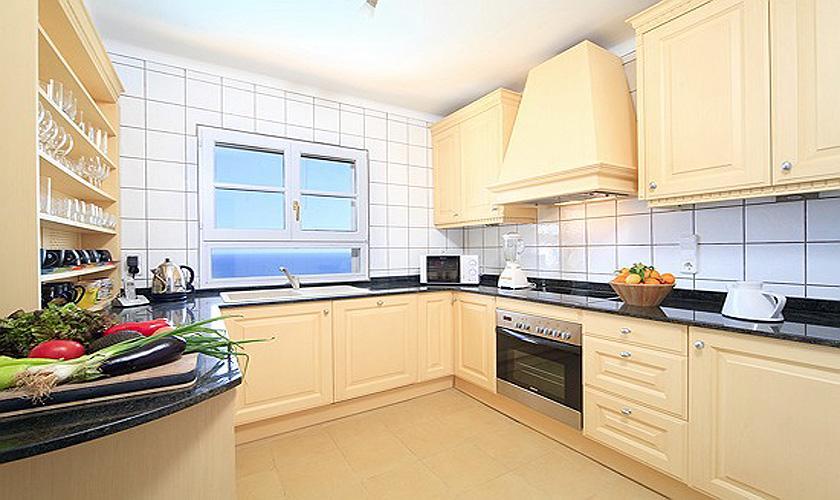 Küche Ferienhaus Mallorca Meerblick PM 508