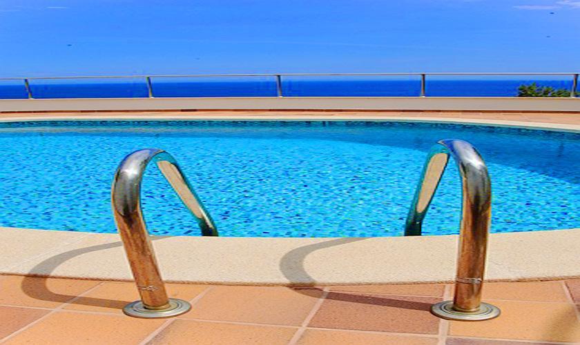 Pool Ferienvilla Mallorca PM 508