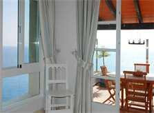 Wohnraum Ferienhaus Mallorca Meerblick PM 508