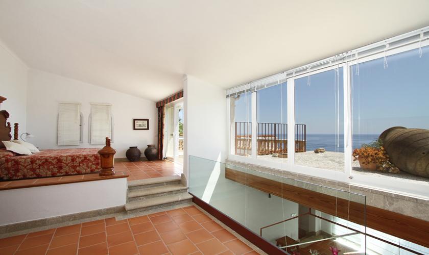 Schlafzimmer Ferienvilla Mallorca Ostküste PM 511