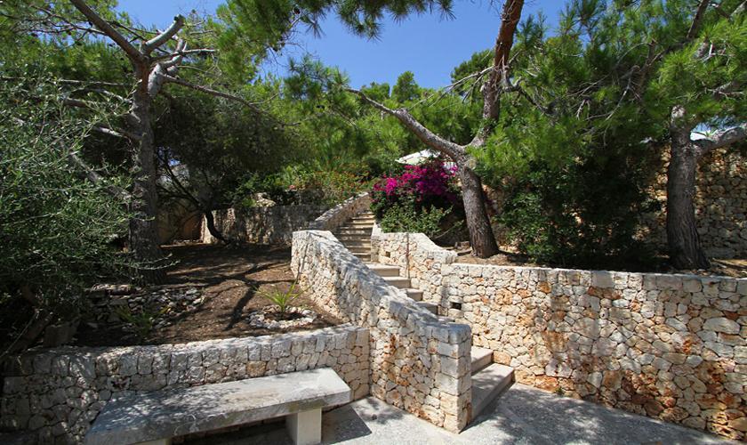 Garten Ferienvilla Mallorca Ostküste PM 511