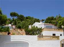 Blick auf die Ferienvilla Mallorca Ostküste PM 511