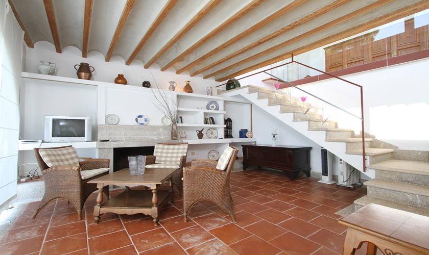 Wohnraum Ferienvilla Mallorca Ostküste PM 511