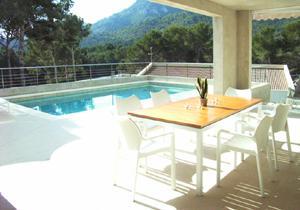 Modernes haus mit pool in deutschland  Finca Mallorca für 8 Personen mit Pool mieten: STEINER Fincas & Villen
