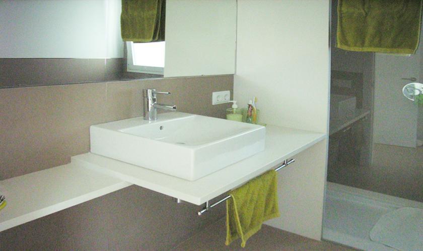 Badezimmer Ferienhaus Mallorca Nordostküste PM 512