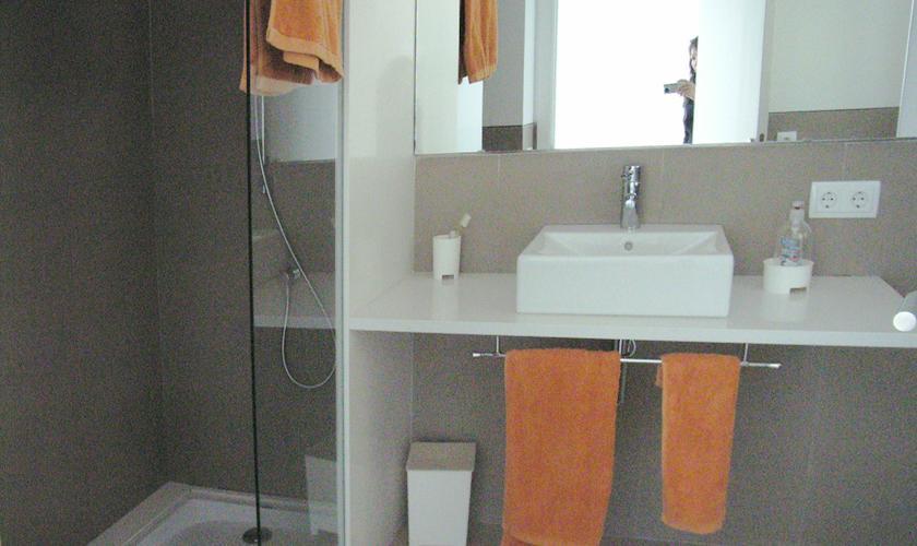 Badezimmer Ferienhaus Mallorca 8 Personen PM 512