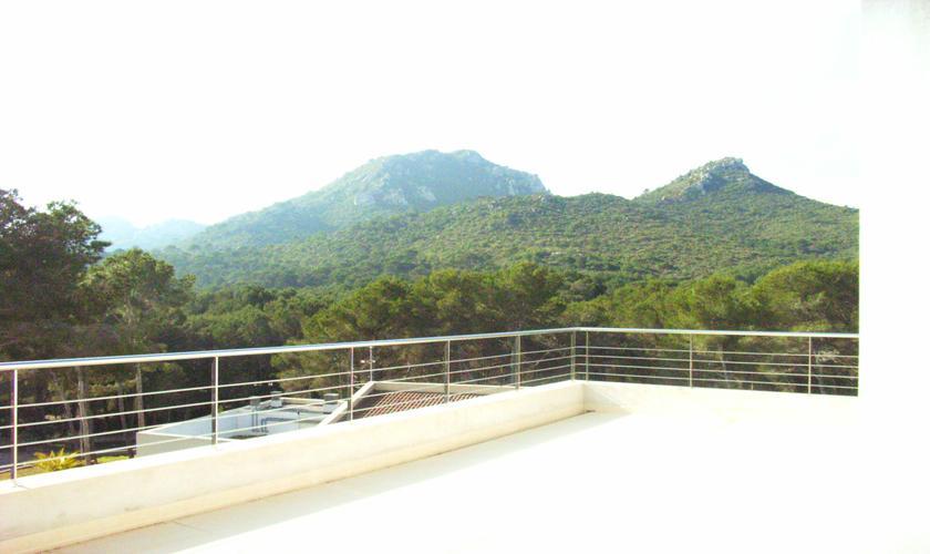 Blick in die Landschaft Ferienhaus Mallorca 8 Personen PM 512