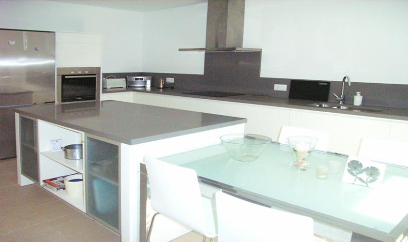 Küche Ferienhaus Mallorca Font de Sa Cala PM 512