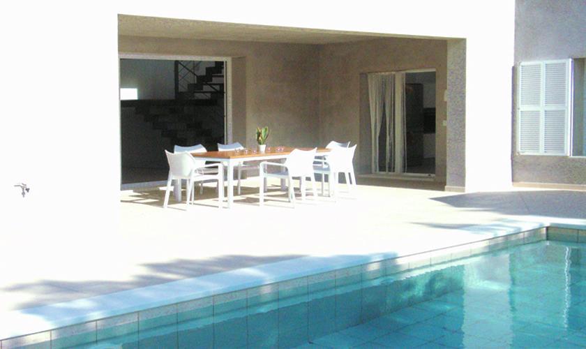 Pool und Terrasse Ferienhaus Mallorca PM 512