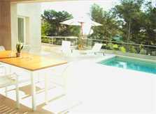 Terrasse Ferienhaus Mallorca 8 Personen PM 512