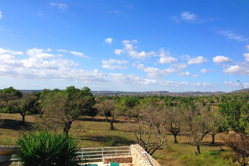 Blick Finca Mallorca Nordosten für 6 Personen PM 5204
