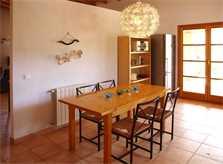 Essplatz Finca Mallorca Nordosten für 6 Personen PM 5204