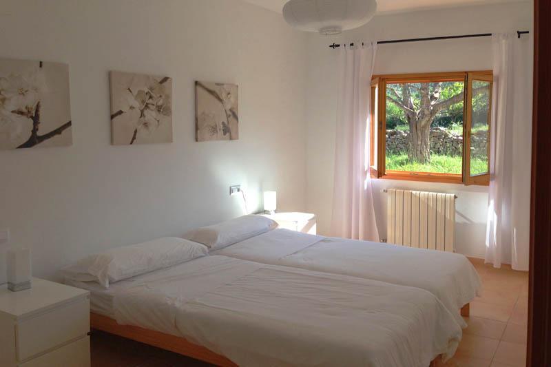 Schlafzimmer Finca Mallorca Nordosten für 6 Personen PM 5204