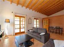 Wohnraum 3 Finca Mallorca Nordosten für 6 Personen PM 5204