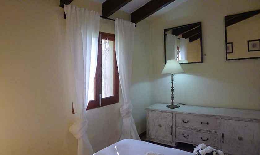 Schlafzimmer Ferienhaus Mallorca Nordosten PM 5208