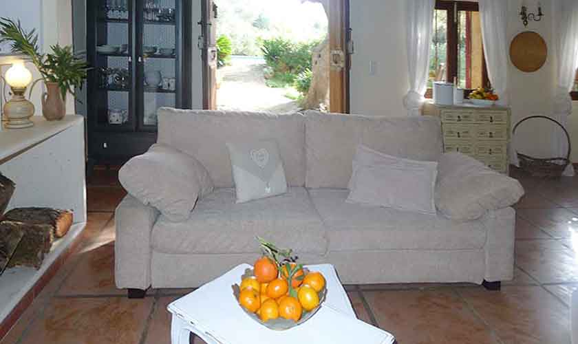 Wohnraum Finca Mallorca Nordosten PM 5208