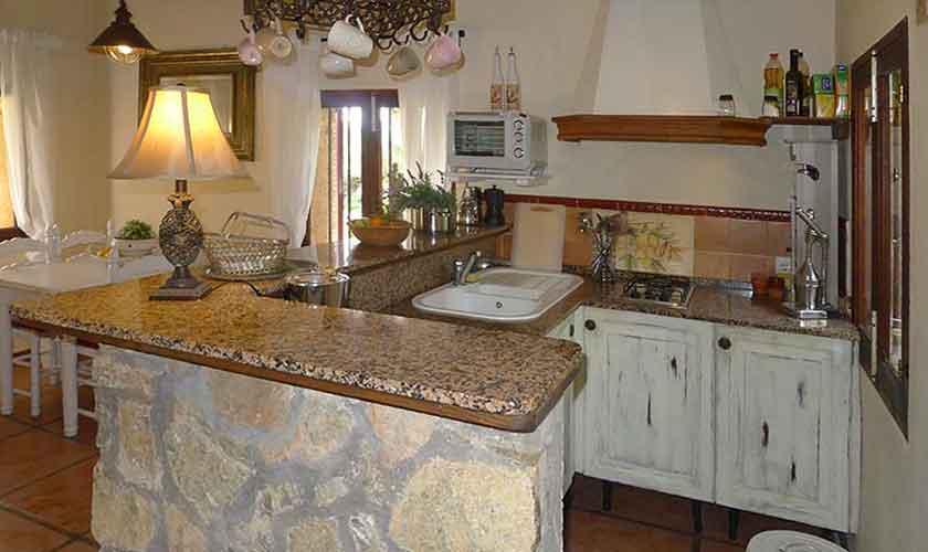 Küche Finca Mallorca Nordosten PM 5208